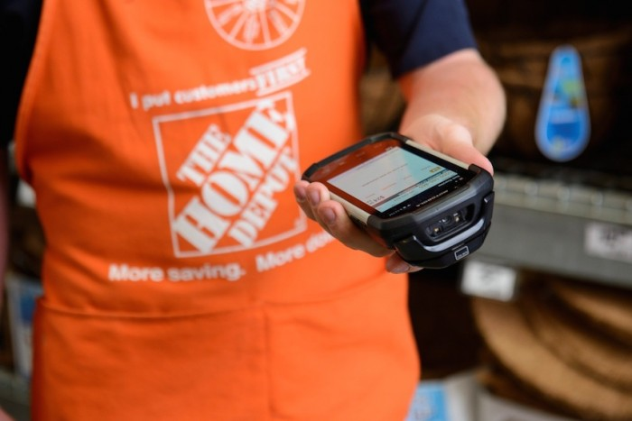 Retailers like Home Depot are hoping to boost profits by paring down inventory.