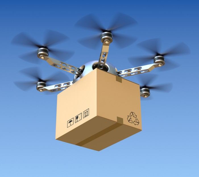 Is delivering a package by drone economically feasible?