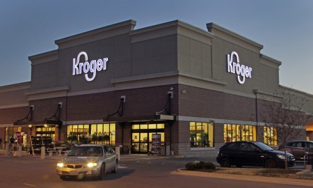 Kroger is aggressively continuing its shares repurchase program.