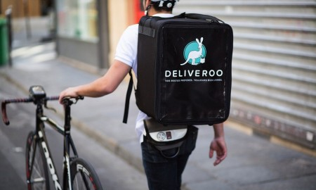 London Deliveroo drivers are protesting a new pricing model the company is testing out.