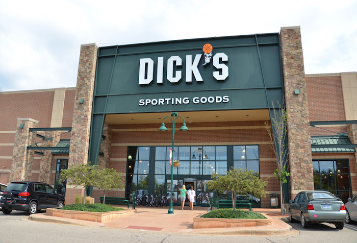 Crazy Volume Spikes for: Dick's Sporting Goods Inc. (DKS)
