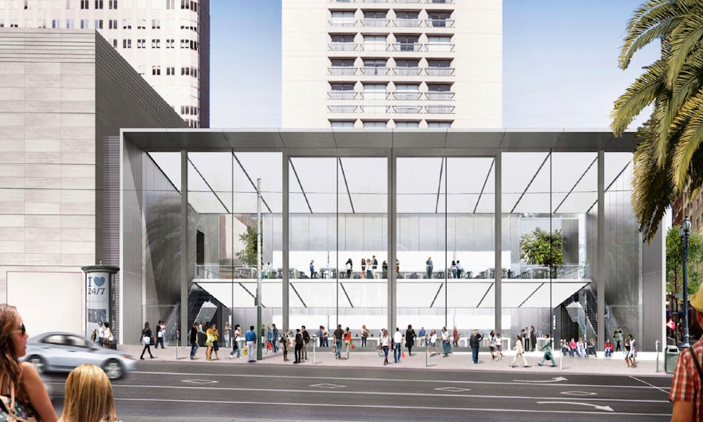 Apple 39 s new store design opening for New anthropologie stores opening 2016