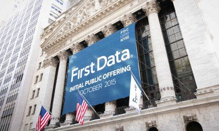 First Data Coming Share Price Rise