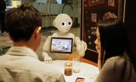 MasterCard Labs Pizza Hut Pepper Robot