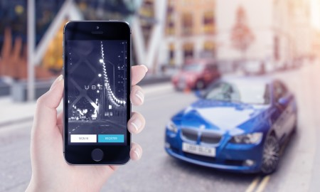 Uber ride hailing