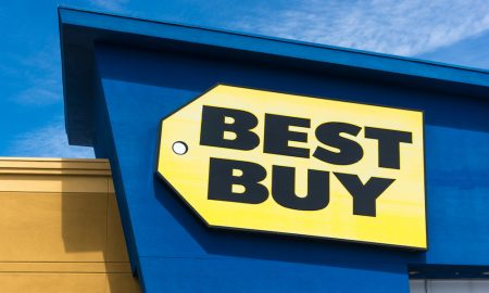 Best Buy's share value plummeted by 5 percent after its CEO Hubert Joly sold his company shares to cut down his stake by 44 percent.