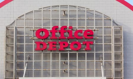 Office Depot CEO stepping down.