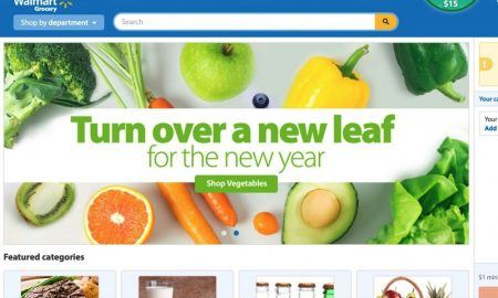 Walmart Pairs With Ridesharing For Grocery Delivery