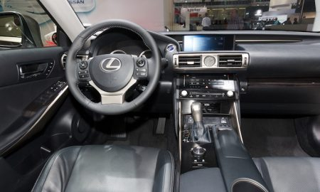 Lexus Dashboard System Glitches Out