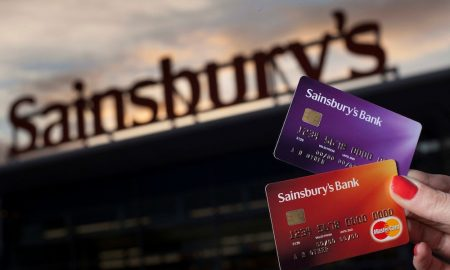 Sainsbury's Credit Cards.  Pictures by Chris James 4/9/12.