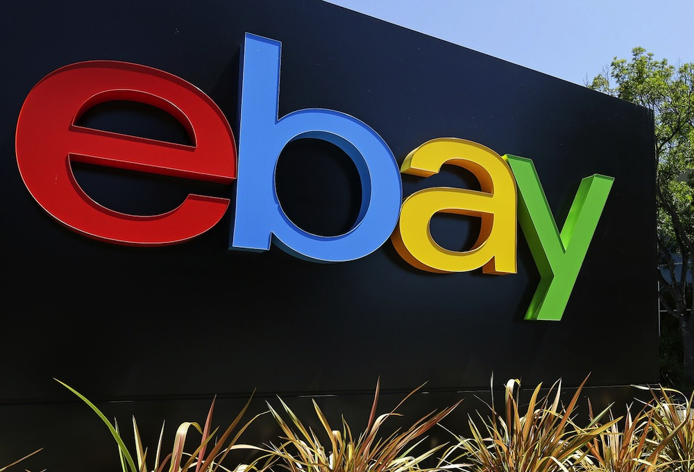 EBay shares sink after posting financial results