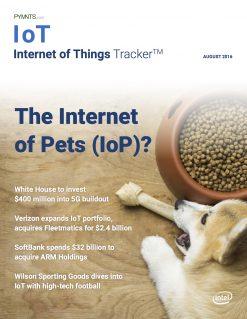 IoT Tracker August 2016