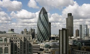 City of London financial centre