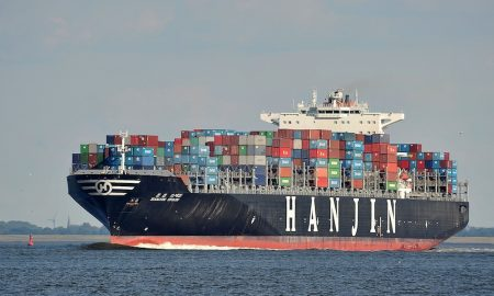 Hanjin beings unloading ships in U.S.
