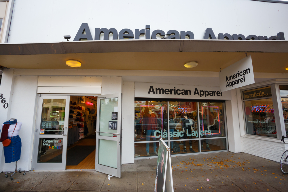 American Apparel Auction