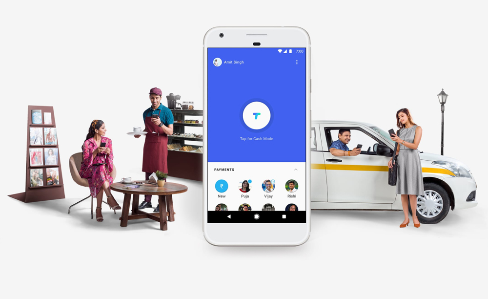 Google's Tez transfer meets your bank account